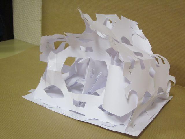 10 comme de la dentelle sculpture en papier 6e. Black Bedroom Furniture Sets. Home Design Ideas